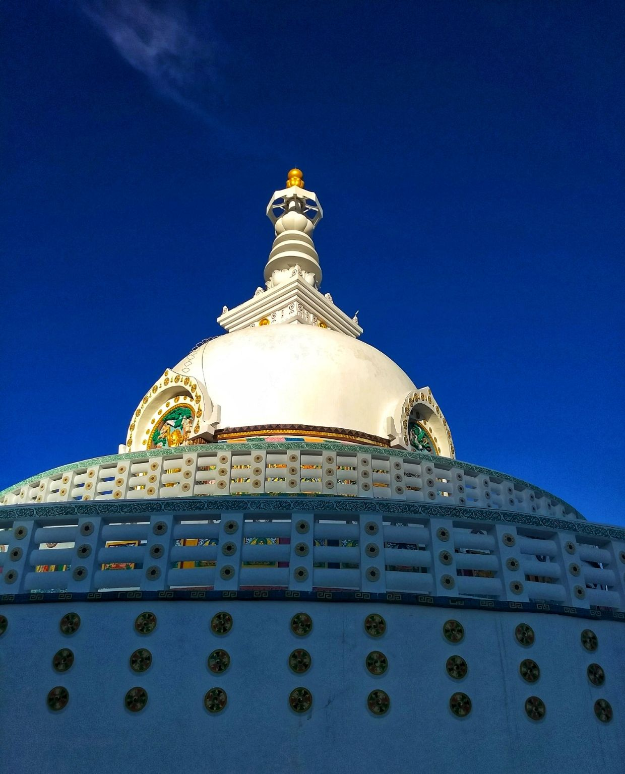 Photo of Shanti Stupa By Vaibhav Jagtap
