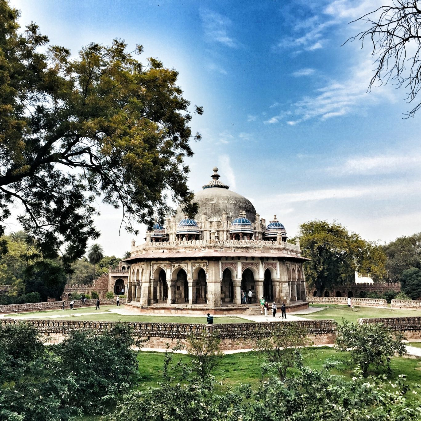 Photo of Isa Khan's Tomb By tanya