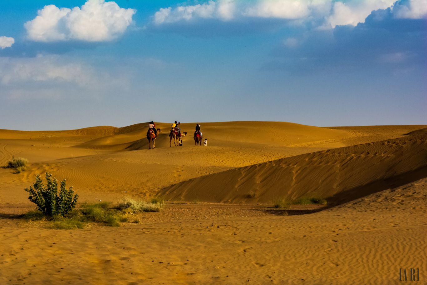 Photo of Sam Sand Dunes By Ankit Rastogi