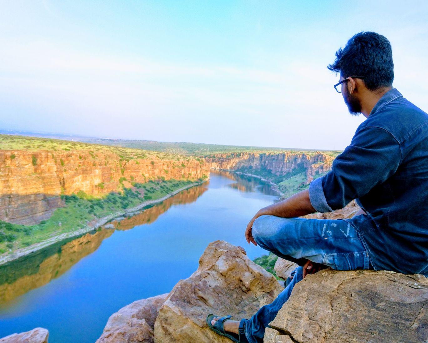 Photo of Gandikota Penna River View By uday krishna reddy