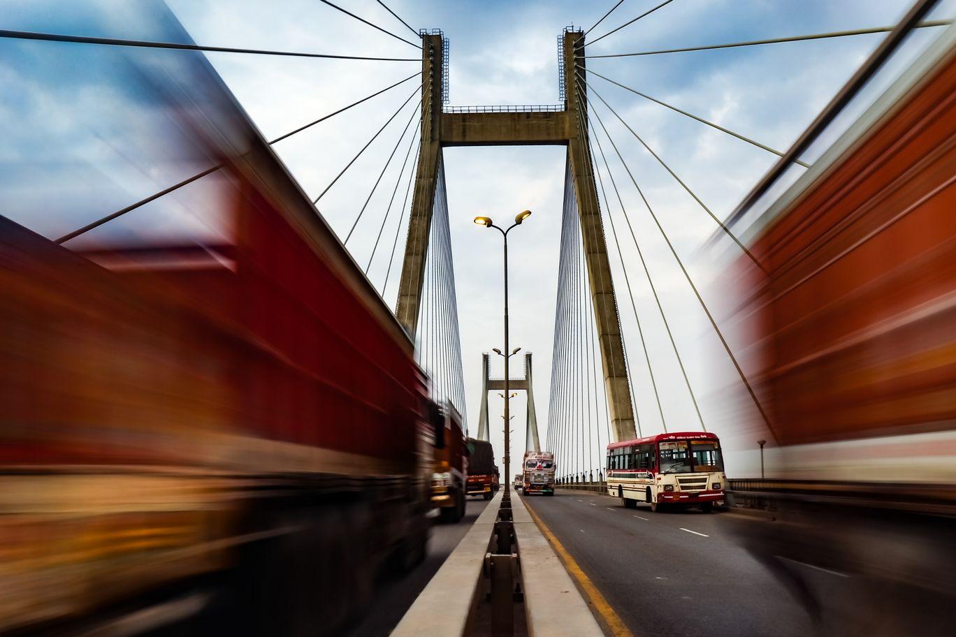 Photo of New Yamuna Bridge By Allahabadi_Photographer
