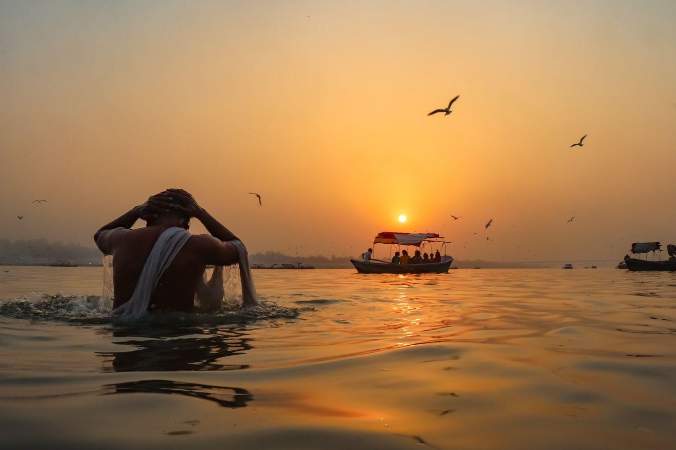 Photo of Triveni Sangam By Allahabadi_Photographer
