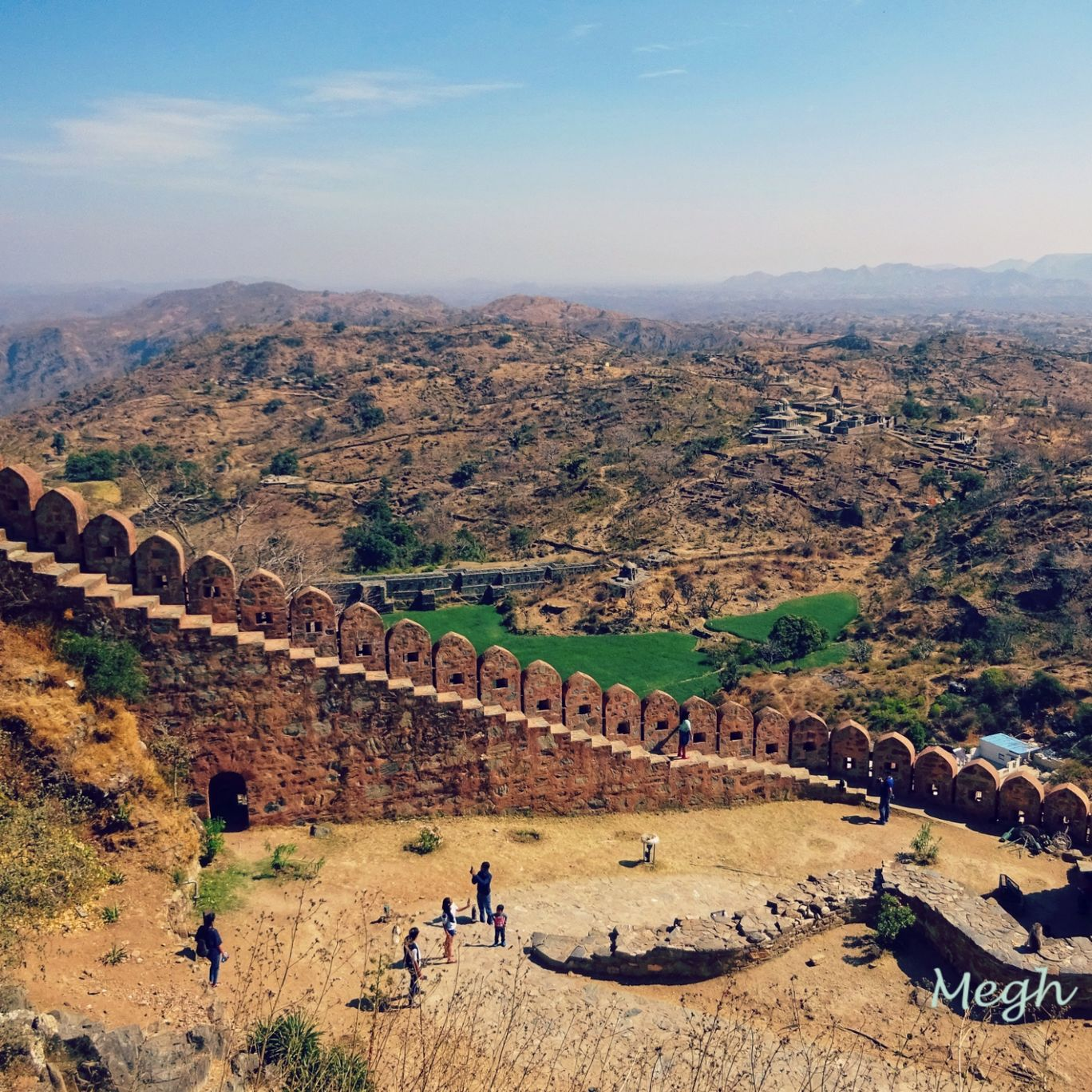 Photo of Kumbhalgarh Fort By Meghali Ghosh