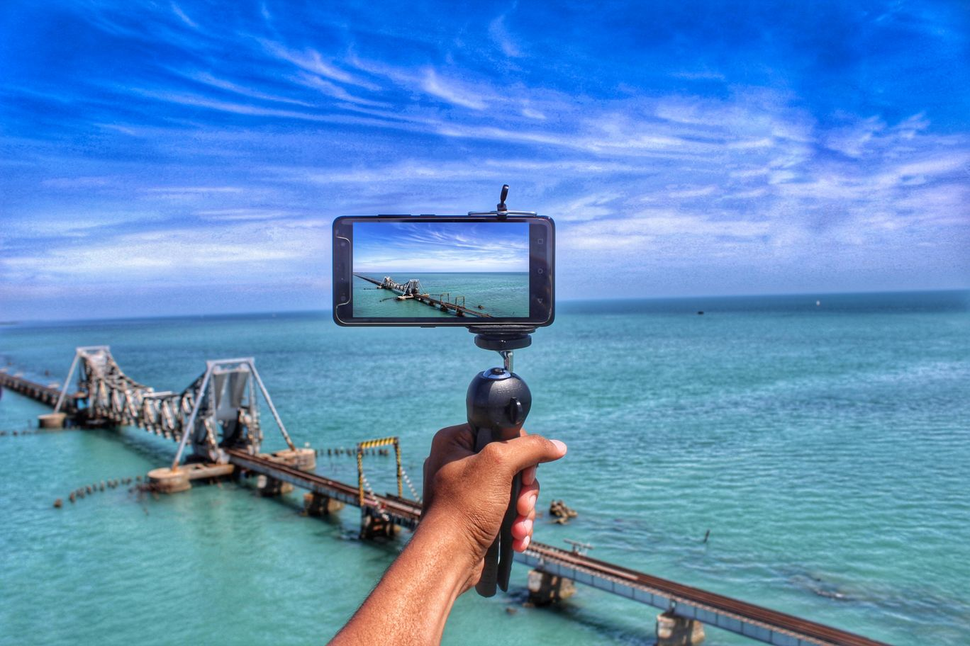 Photo of Pamban Bridge By Nikhlesh tyagi