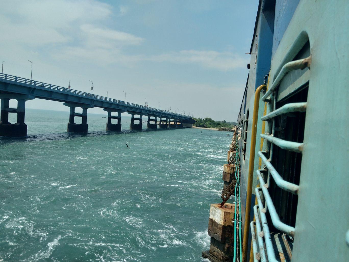 Photo of Pamban Bridge By ramesh aravind