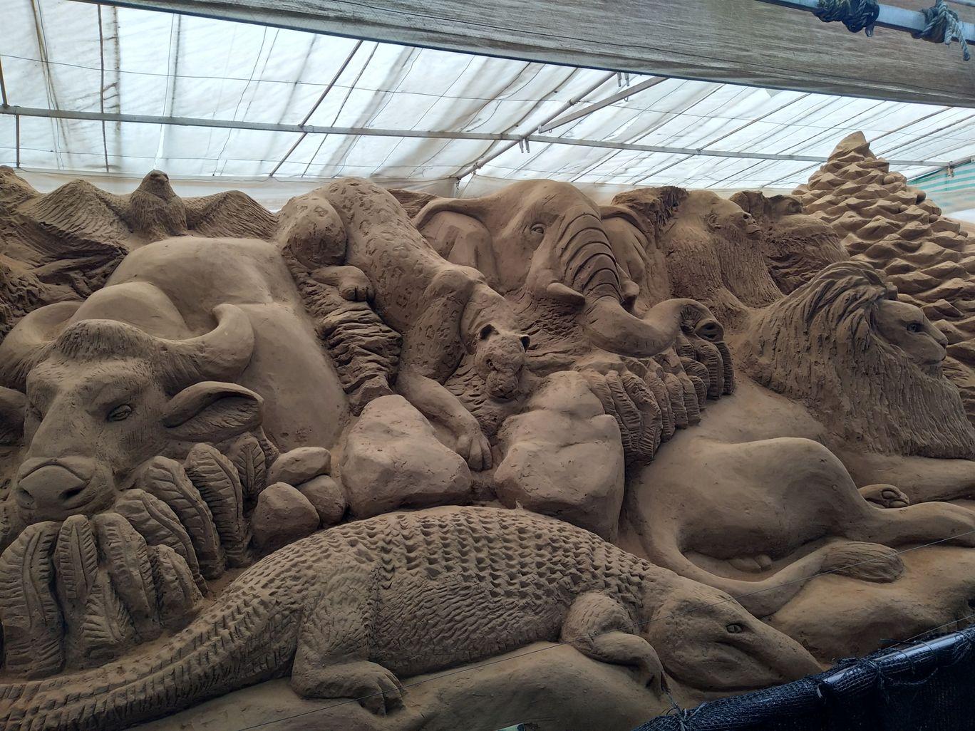 Photo of Mysore Sand Sculpture Museum By Mahesh Gorijavolu