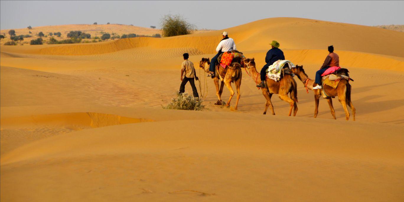 Photo of Kanoi By Jaisalmer Sam Desert Safari