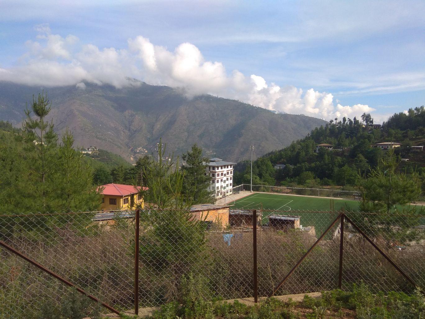 Photo of Punakha Dzong By Sibabrata Choudhury