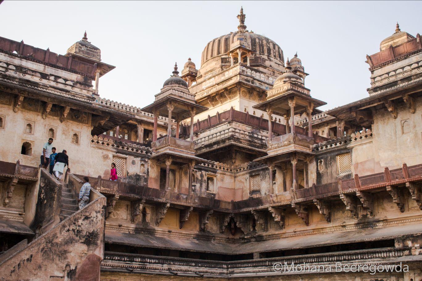 Photo of Orchha Palace By Mohana Beeregowda