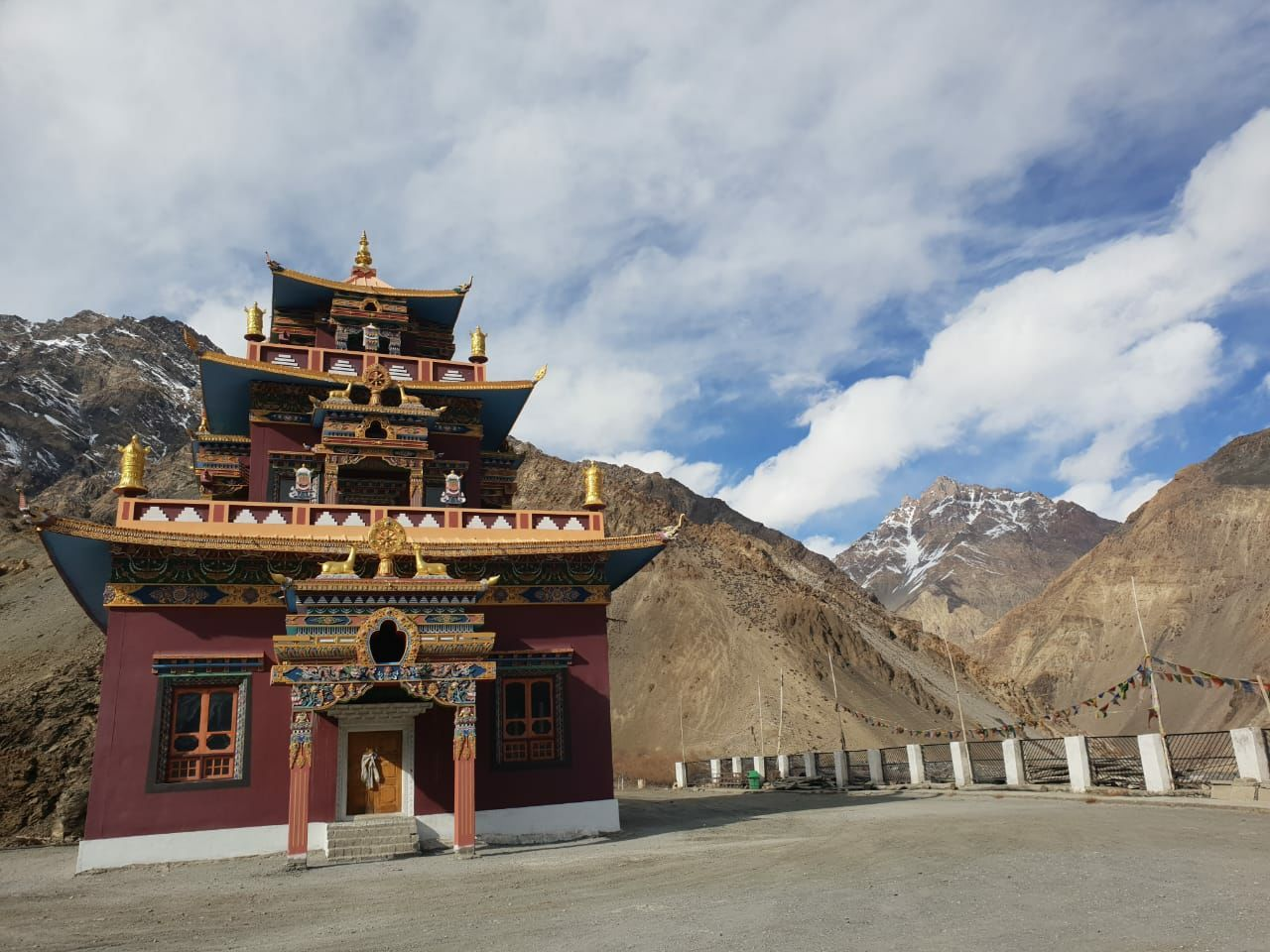 Photo of Gue Mummy Lama Temple By Upinder Sharma