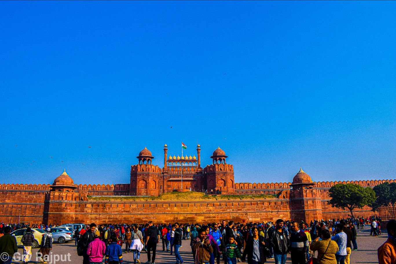 Photo of Red Fort By Gaurav Rajput