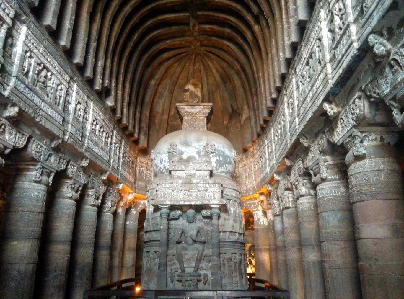 Photo of Ajanta Caves By Vikas Chandra