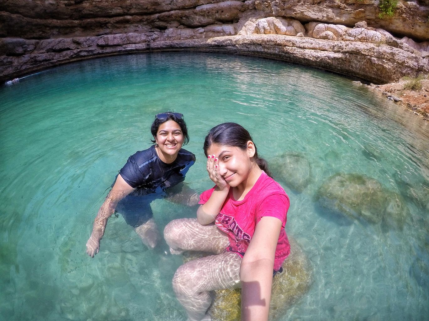 Photo of Bimmah Sinkhole By Simran Wadhwani