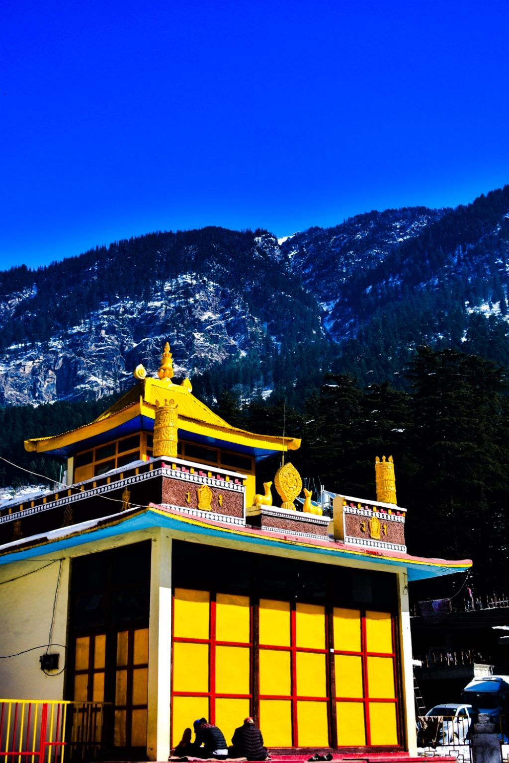Photo of Tibetan Buddhist Monastery By Tanush Pas