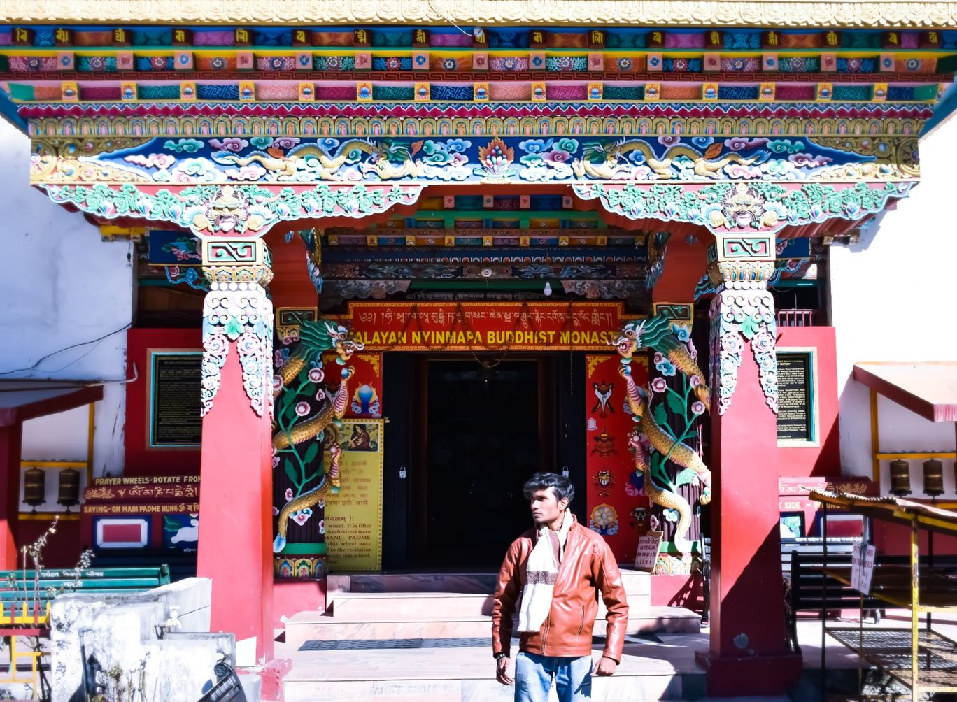 Photo of Tibetan Buddhist Monastery By Tanush Pas