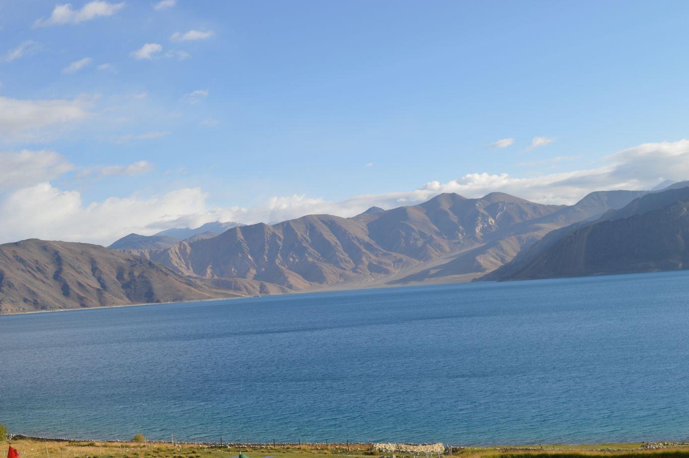 Photo of Pangong Lake Road By Nishant Chaubey