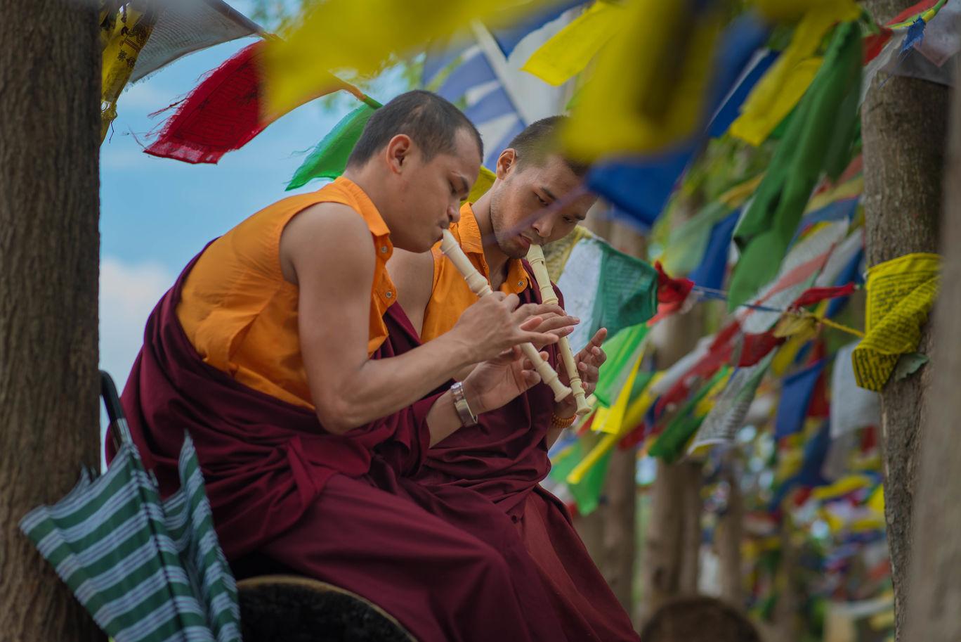 Photo of Namdroling Monastery Golden Temple By Dinoop Raj