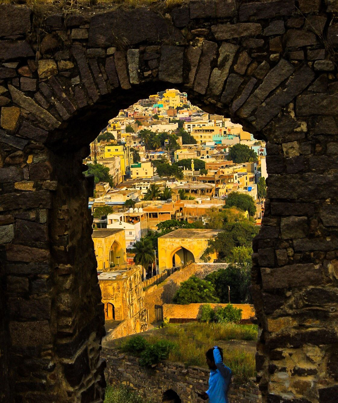 Photo of Golconda Fort By Indrajit Sur