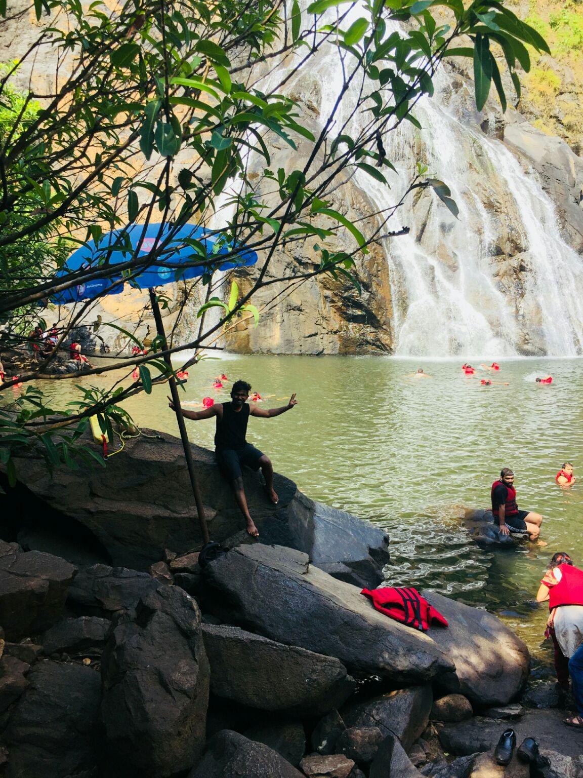 Photo of Dudhsagar Falls By Akhil Devasani
