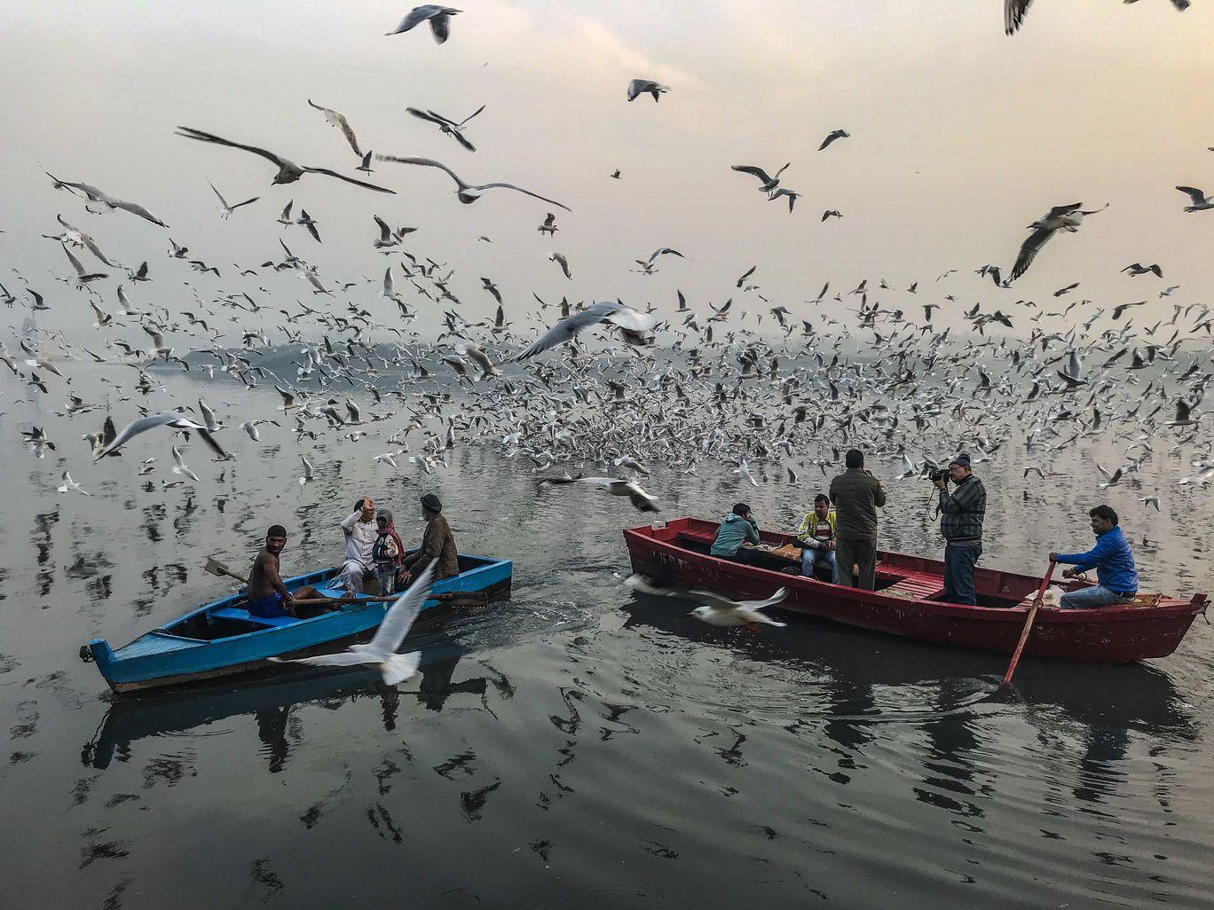 Photo of Yamuna Ghat By Aakash Poddar
