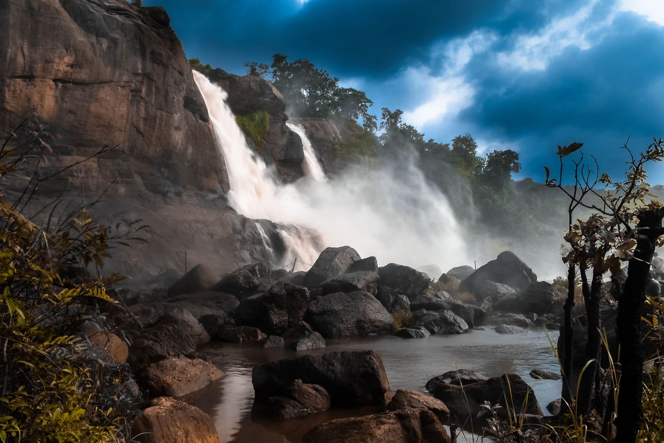 Photo of Athirappilly Water Falls By Ashish Augustine