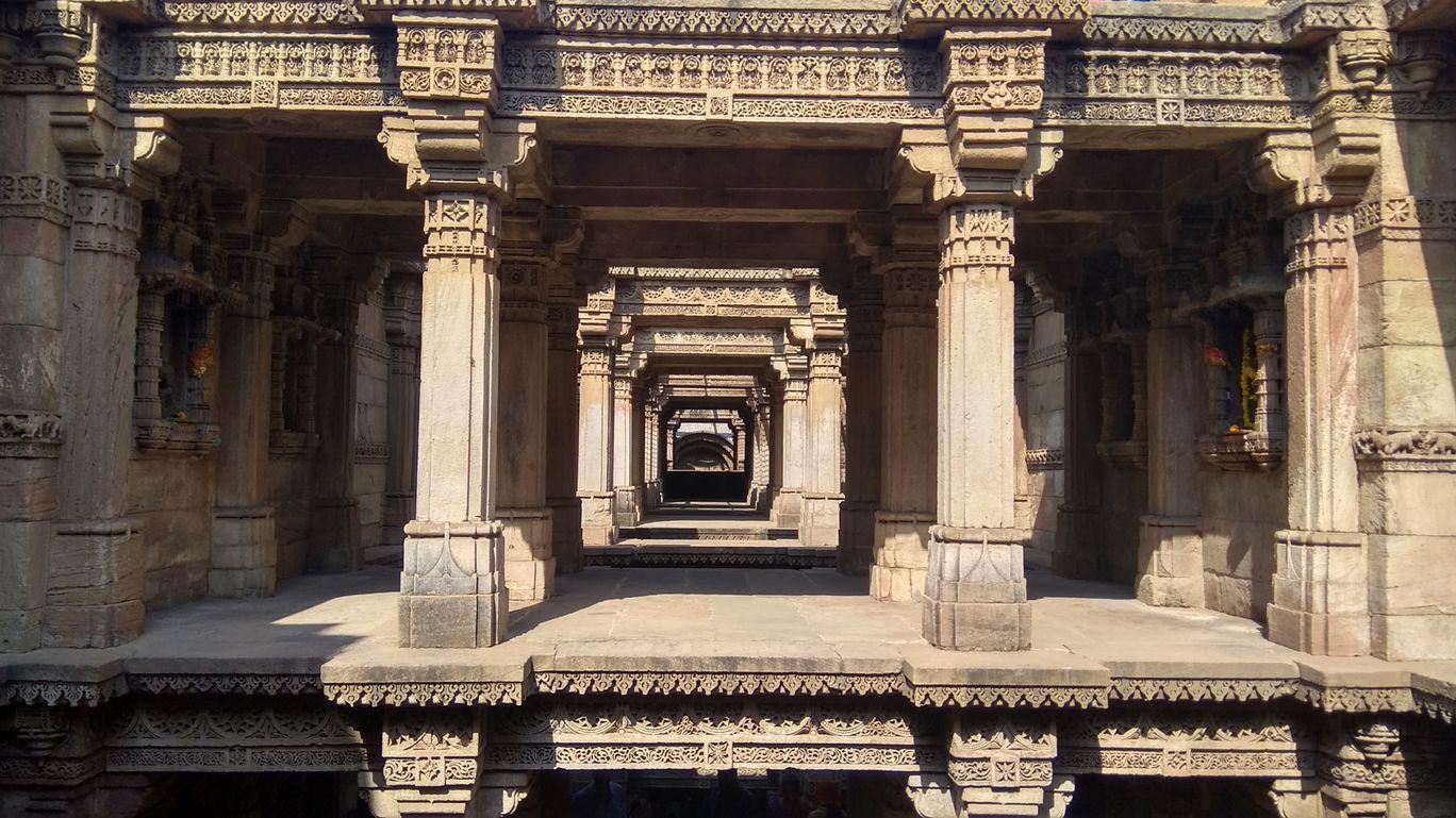 Photo of Adalaj Stepwell By Upadrasta Shiva Teja