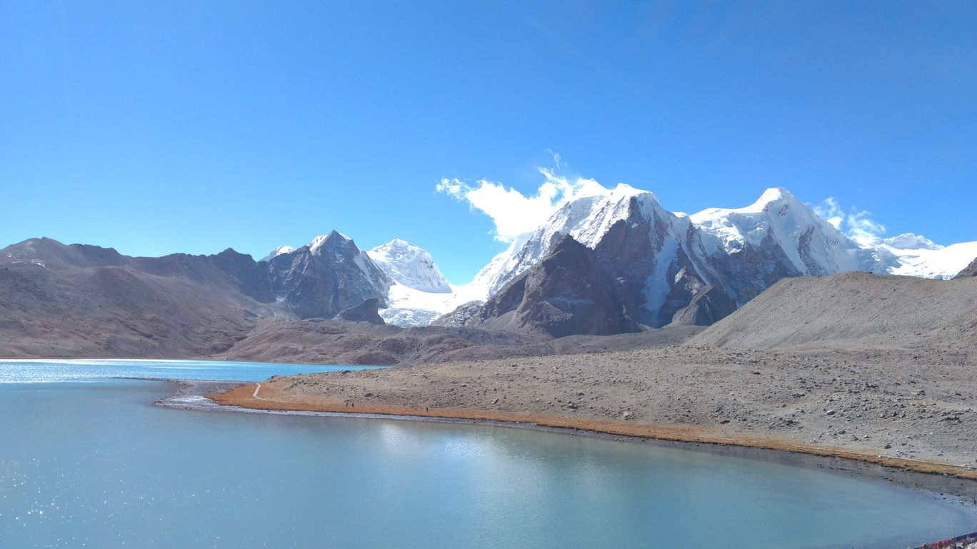 Photo of Gurudongmar Lake By Shailen Thalod