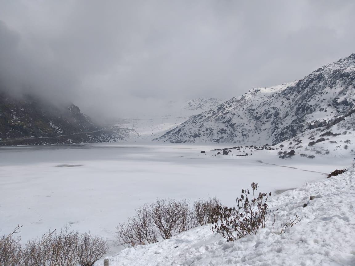 Photo of Tsomgo Lake By Dr. Ritesh Sompura