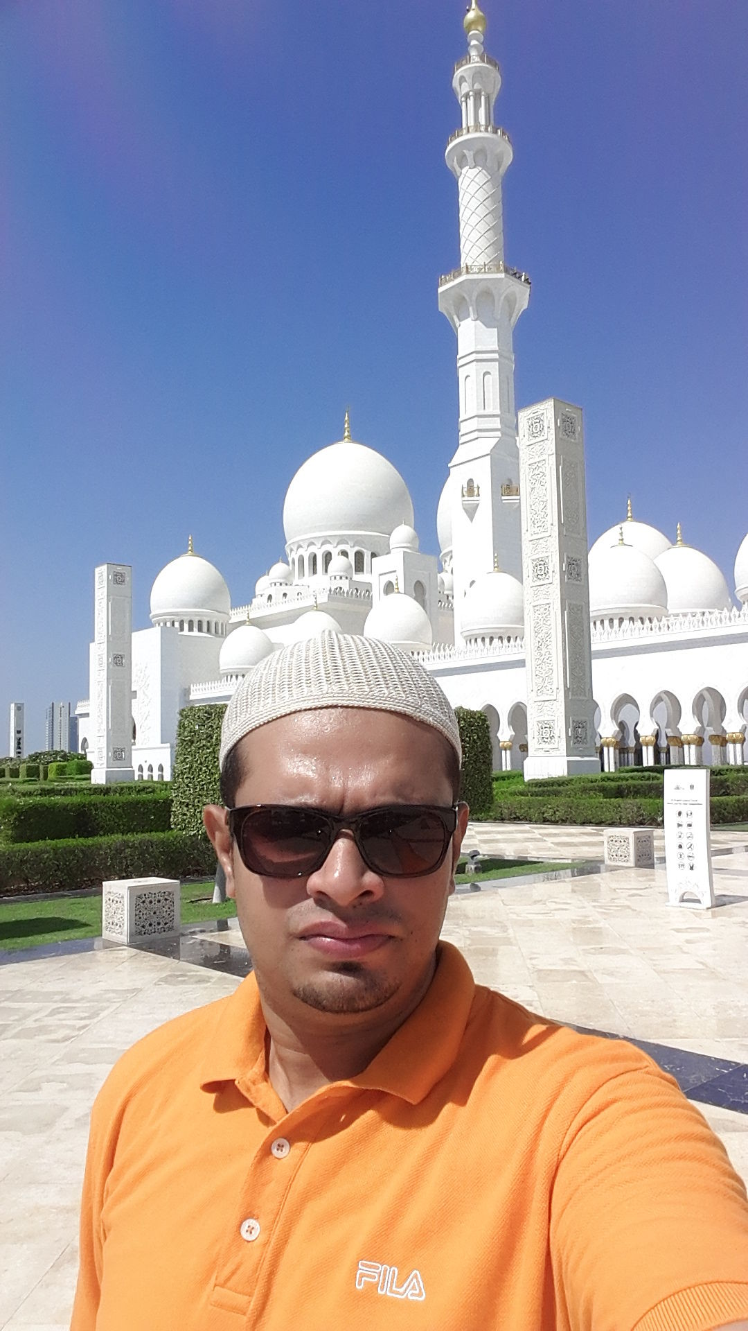 Photo of Mosque Of Sheikh Zayed Bin Sultan the First - 9 - Street - Abu Dhabi - United Arab Emirates By Mohamed Zaheen T