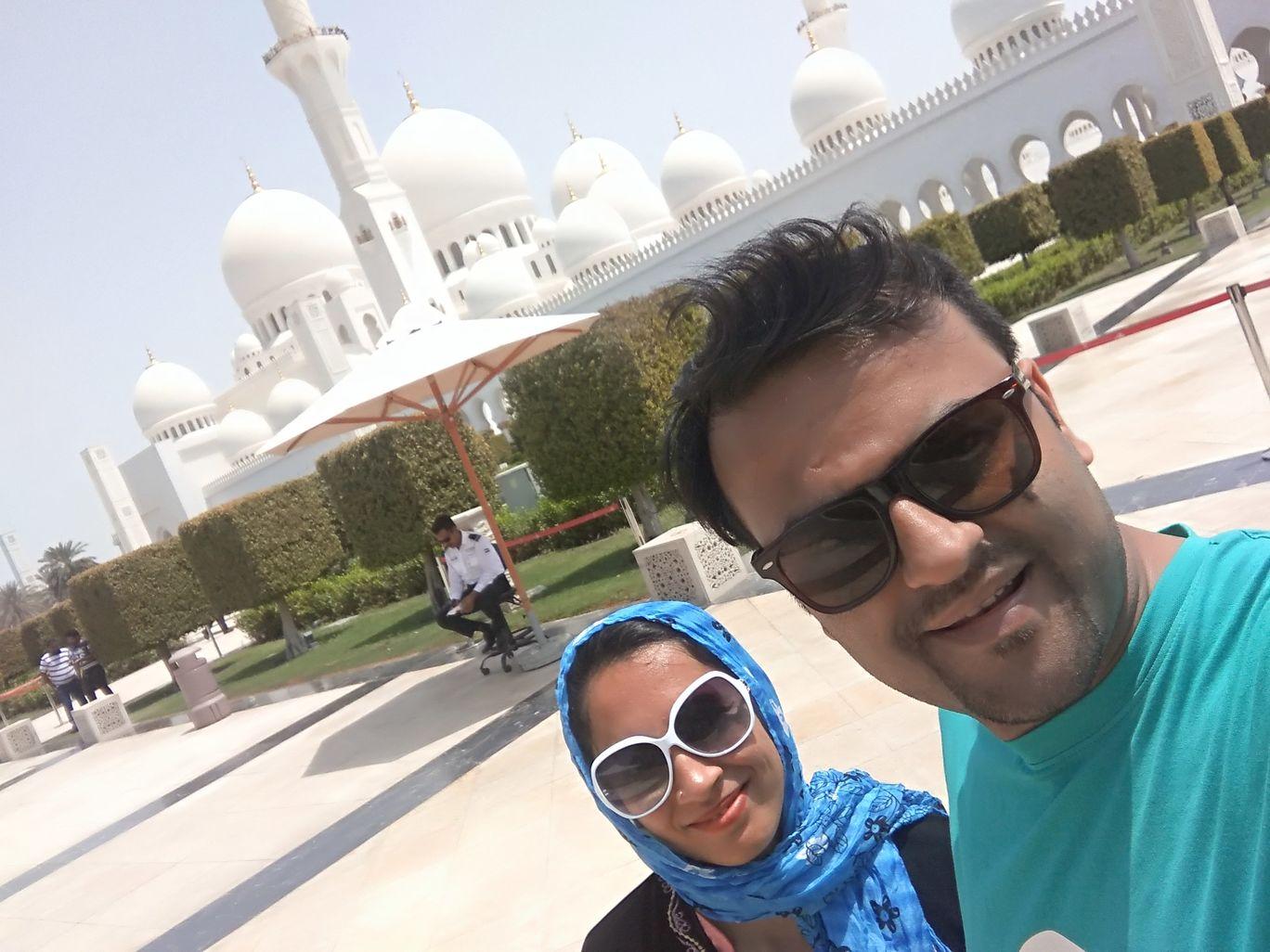 Photo of Mosque Of Sheikh Zayed Bin Sultan the First - 9 - Street - Abu Dhabi - United Arab Emirates By Pragnesh Shah