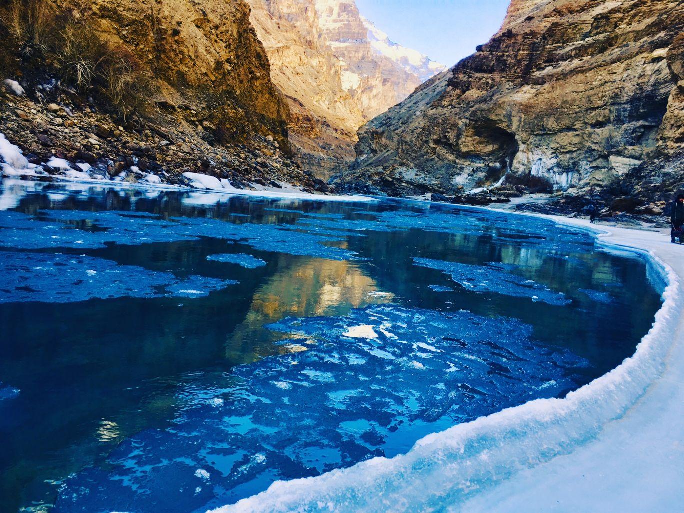 Photo of Chadar trek - Trekking In Ladakh - Frozen River Trekking In Ladakh By Nagaraj S