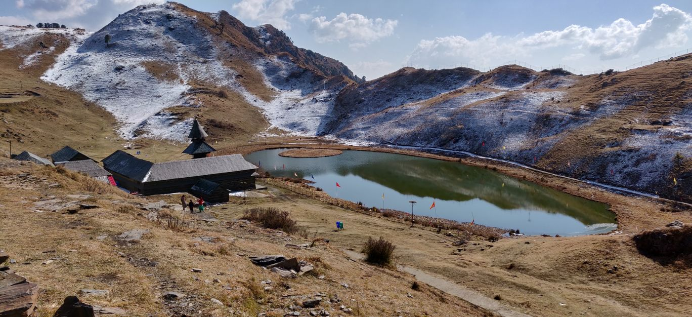 Photo of Prashar Lake By tejbir singh