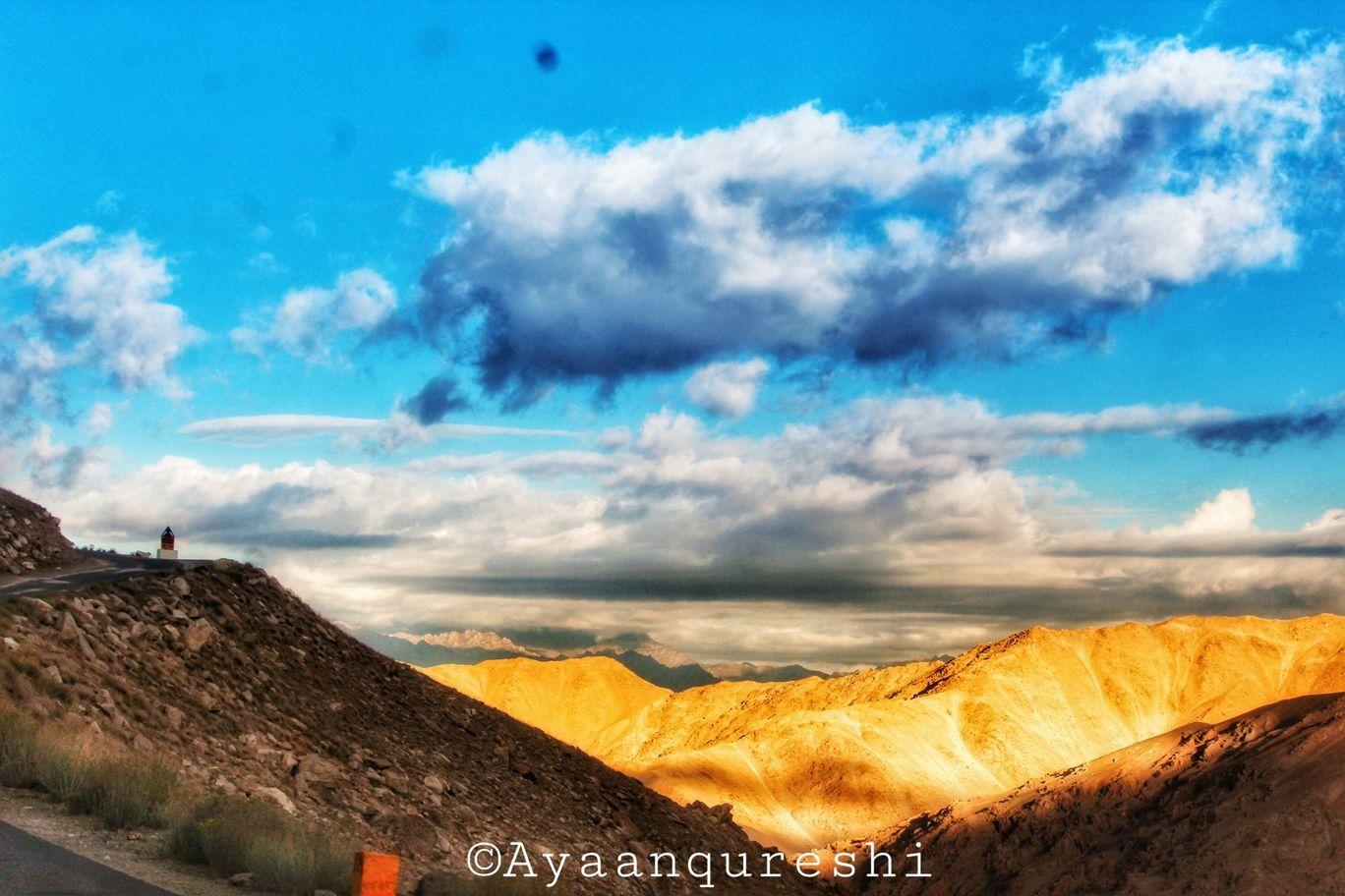 Photo of Pangong Lake By AyaAn Qureshi