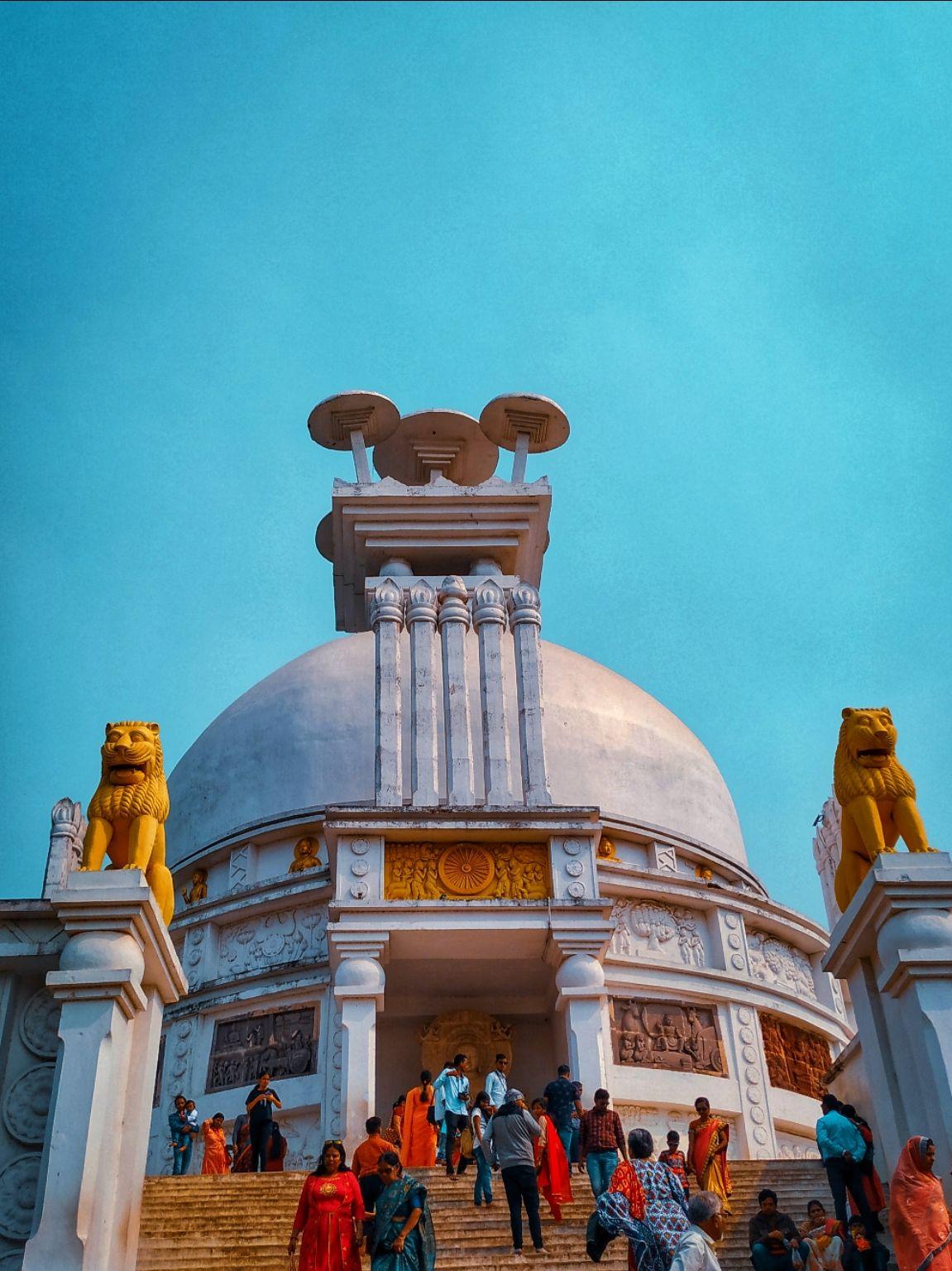 Photo of Dhauli Shanti Stupa By Janmejay Mallick