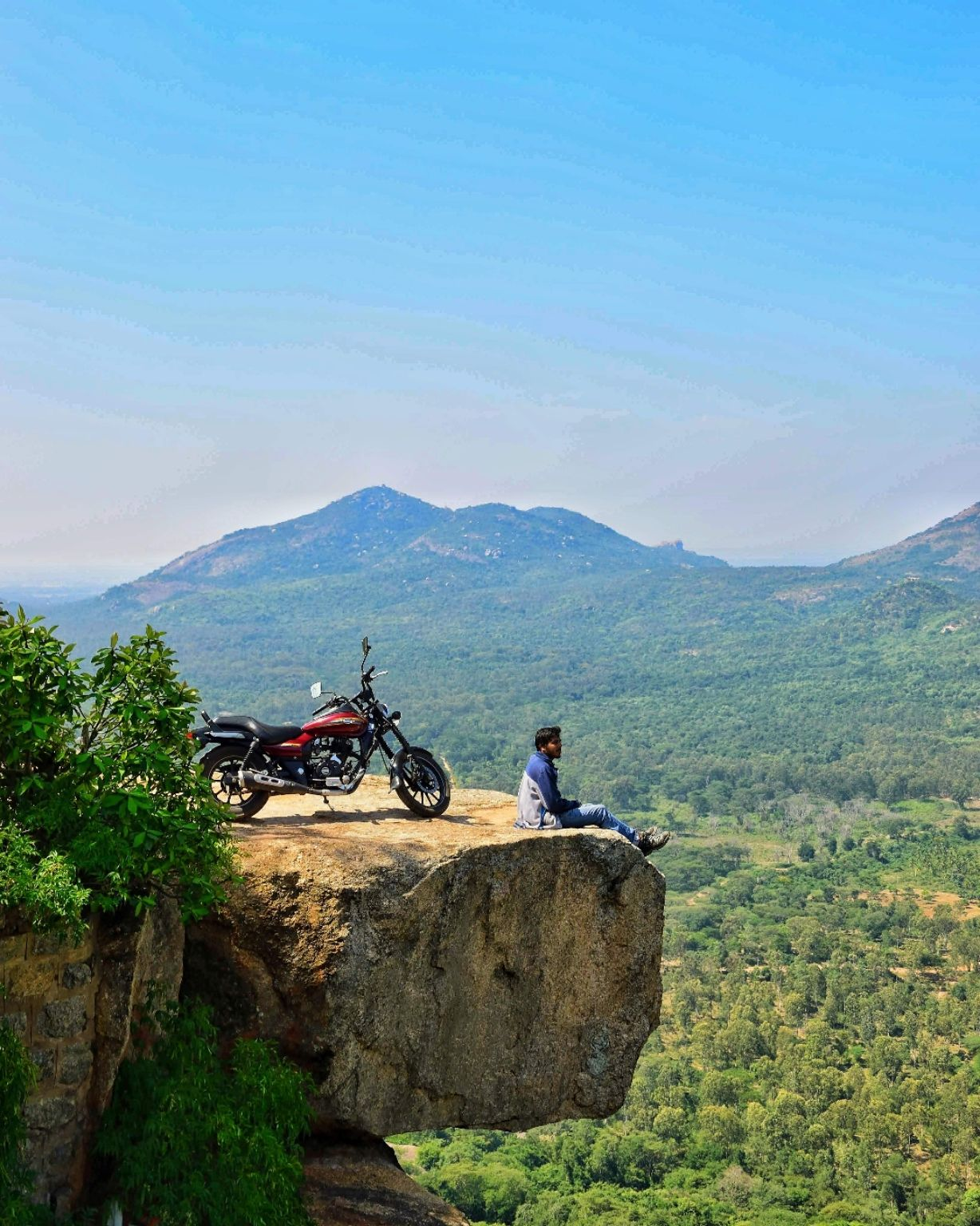 Photo of Devarayanadurga hill By Sridharan Vs