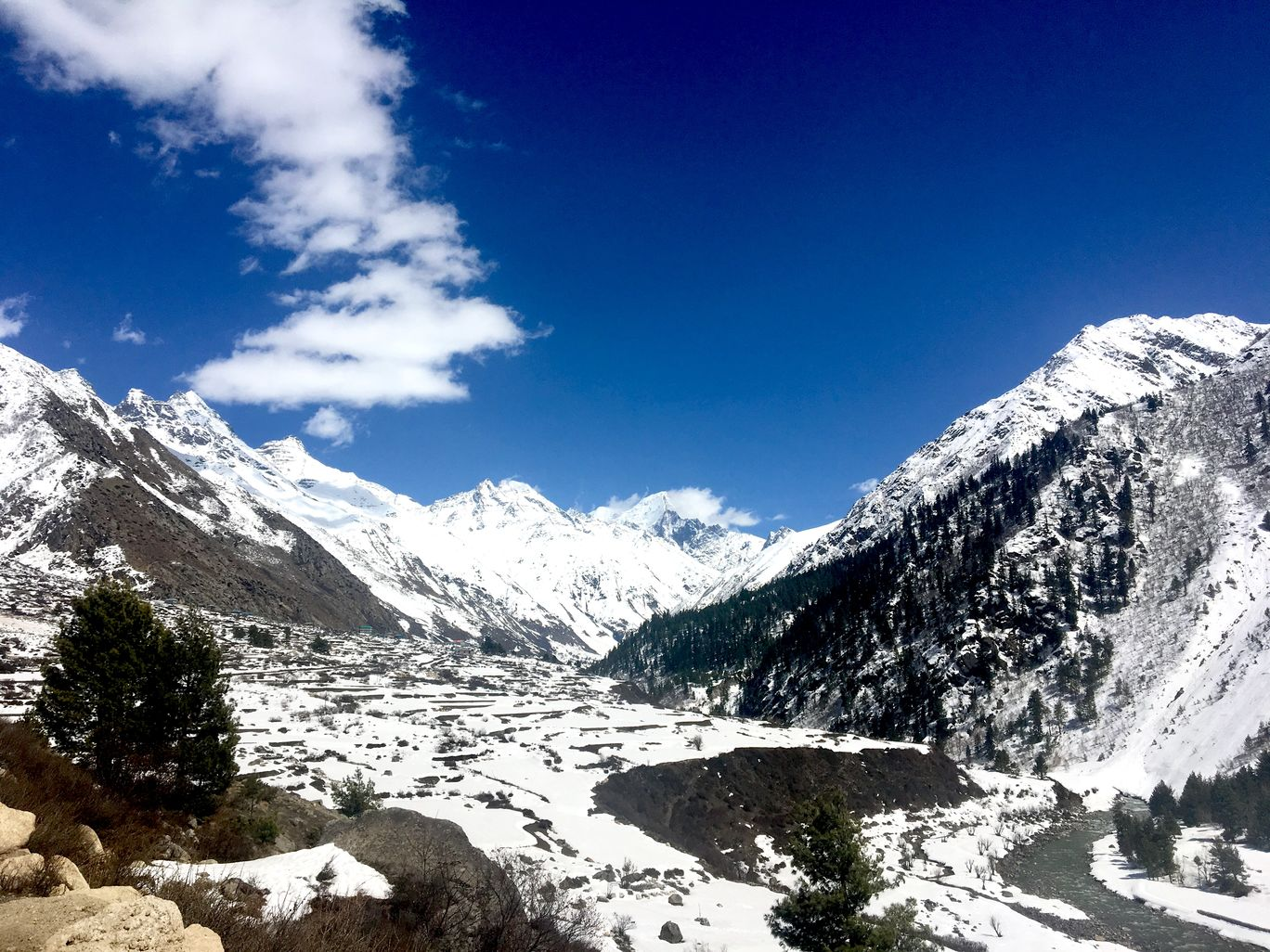 Photo of Chitkul By Sneha