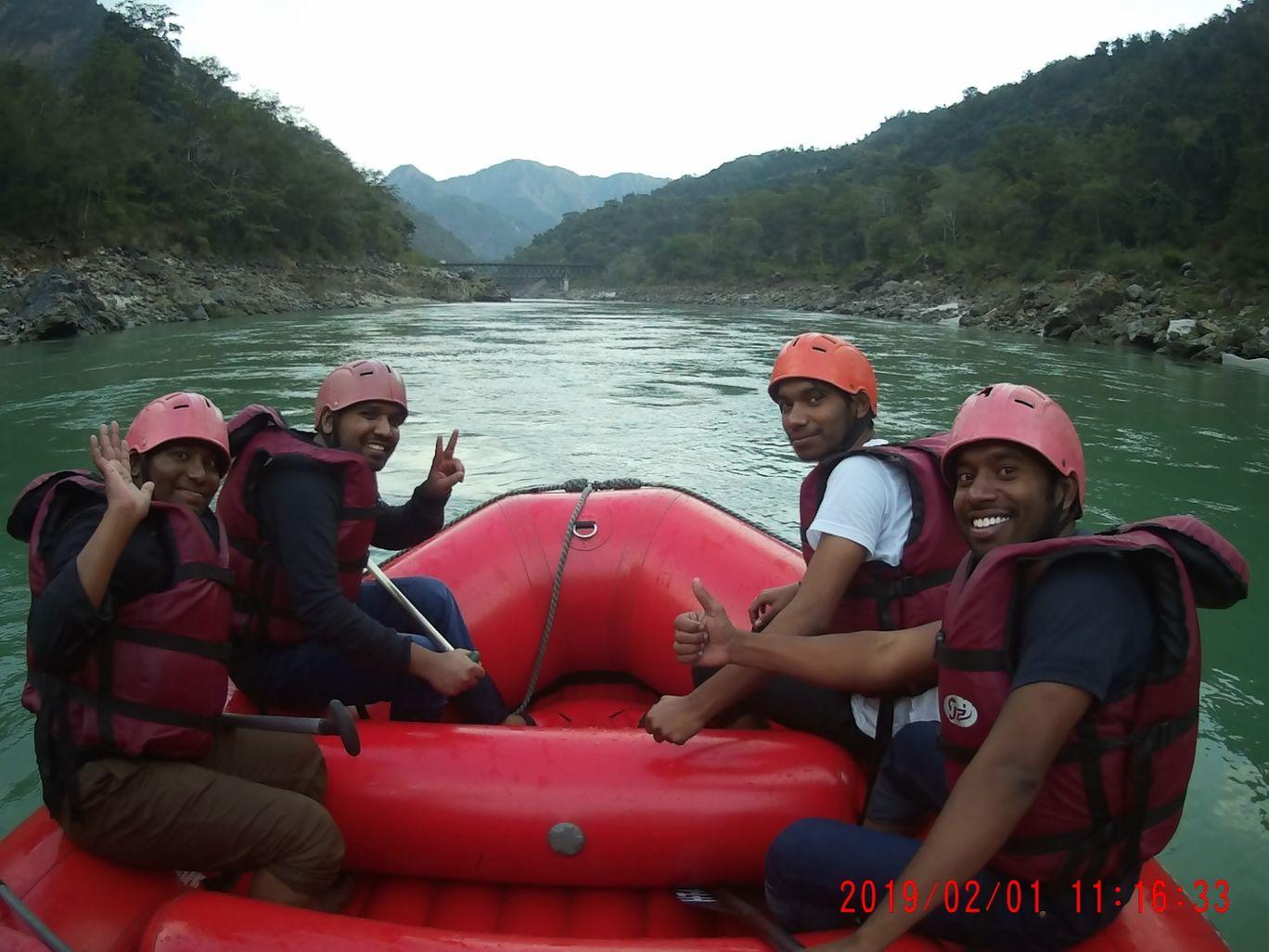Photo of Rishikesh River Rafting By Kothapalli BhuvanaChandra