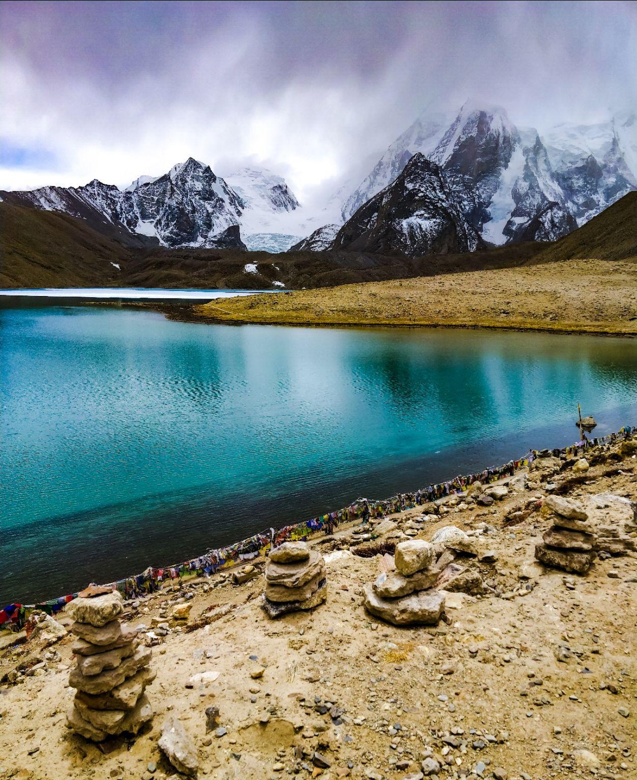 Photo of Gurudongmar Lake By Aniket Gupta