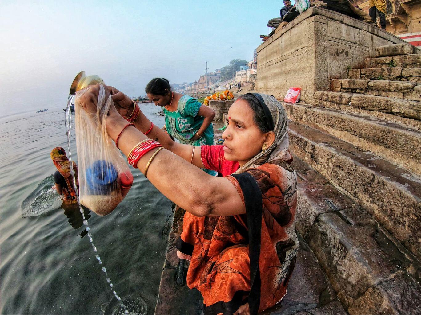 Photo of Varanasi By the oddnaari