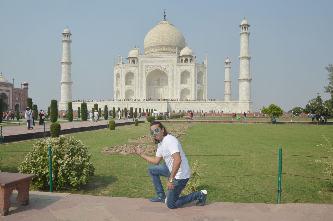 Photo of Taj Mahal By Ravi Pratap Rao