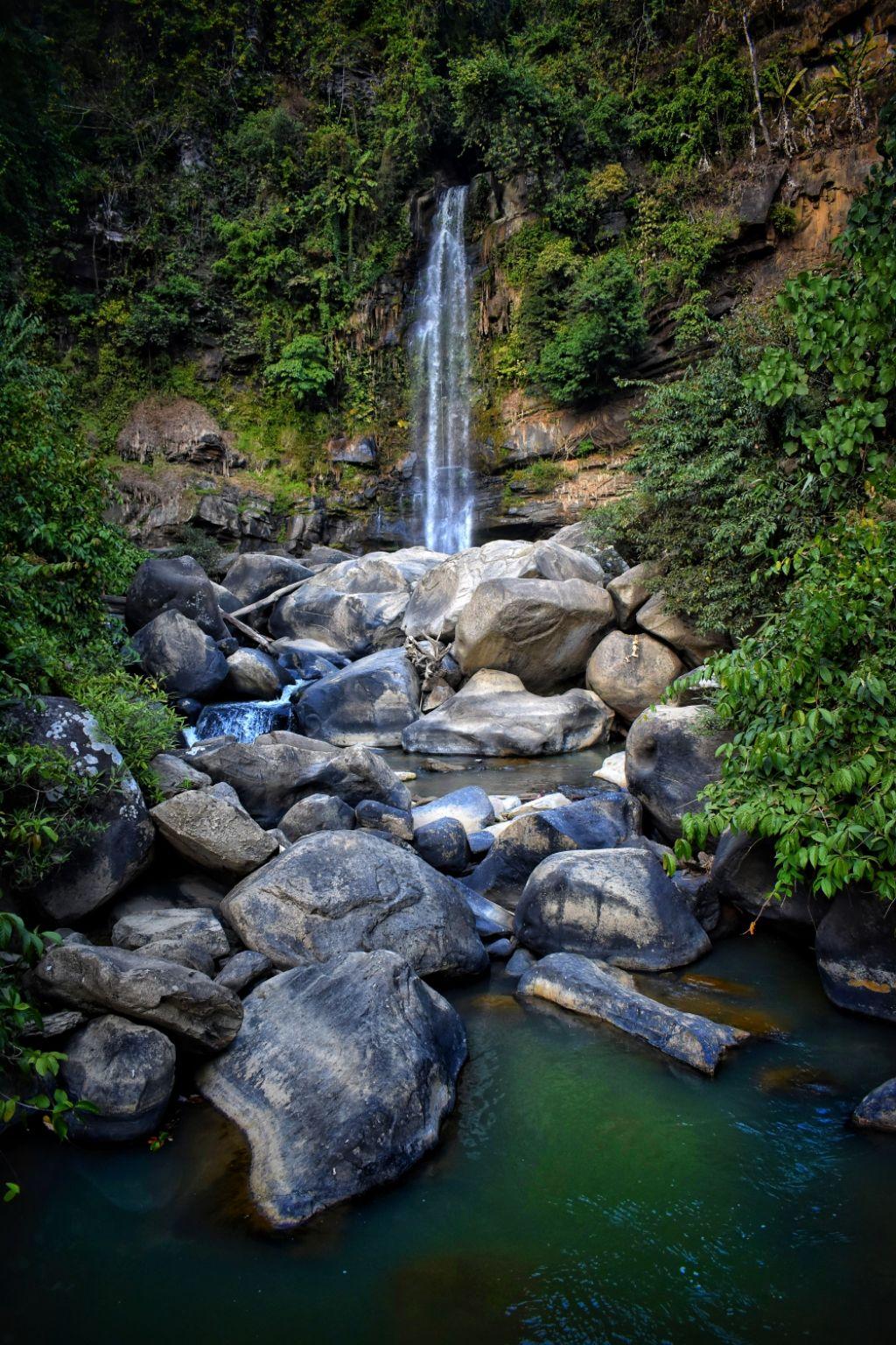 Photo of Khoupum Waterfall By SANGAI MOONLIGHT CAMPING