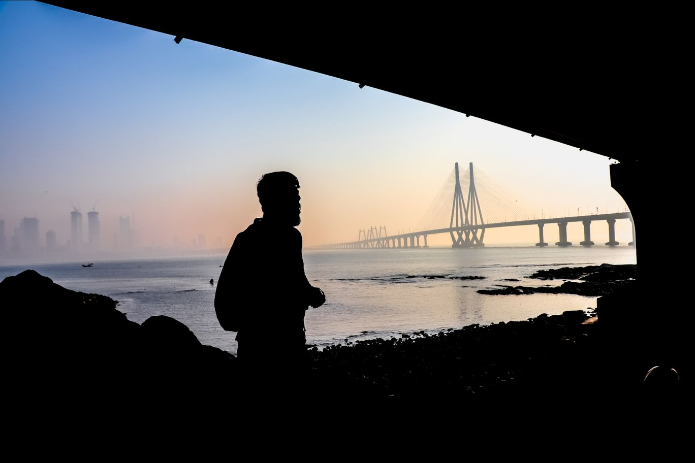 Photo of Bandra - Worli Sea Link By Chalta_firta_photographer