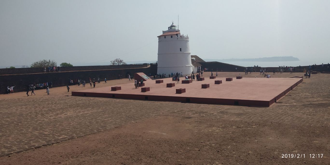 Photo of Aguada Fort Area By Sanmesh Sawant
