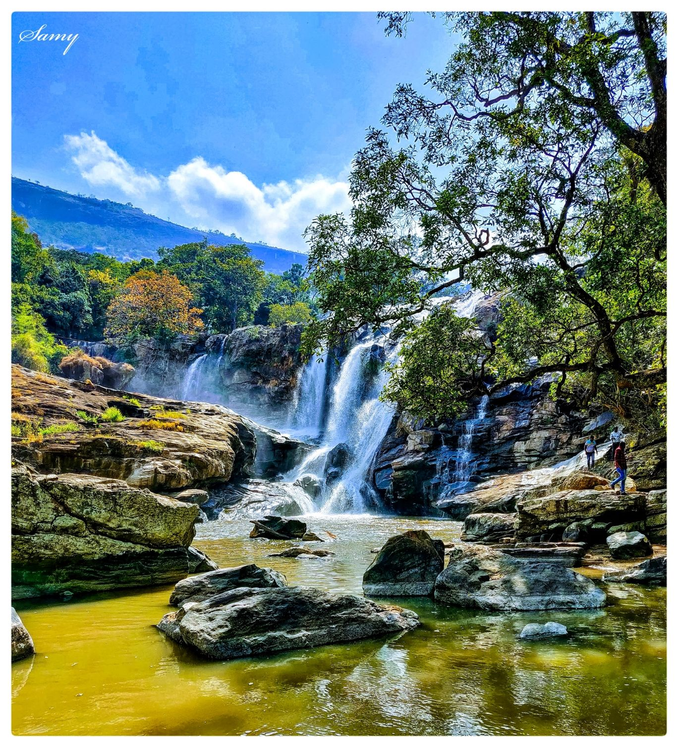 Photo of Thoovanam Waterfalls By Periyasamy Shanmugam