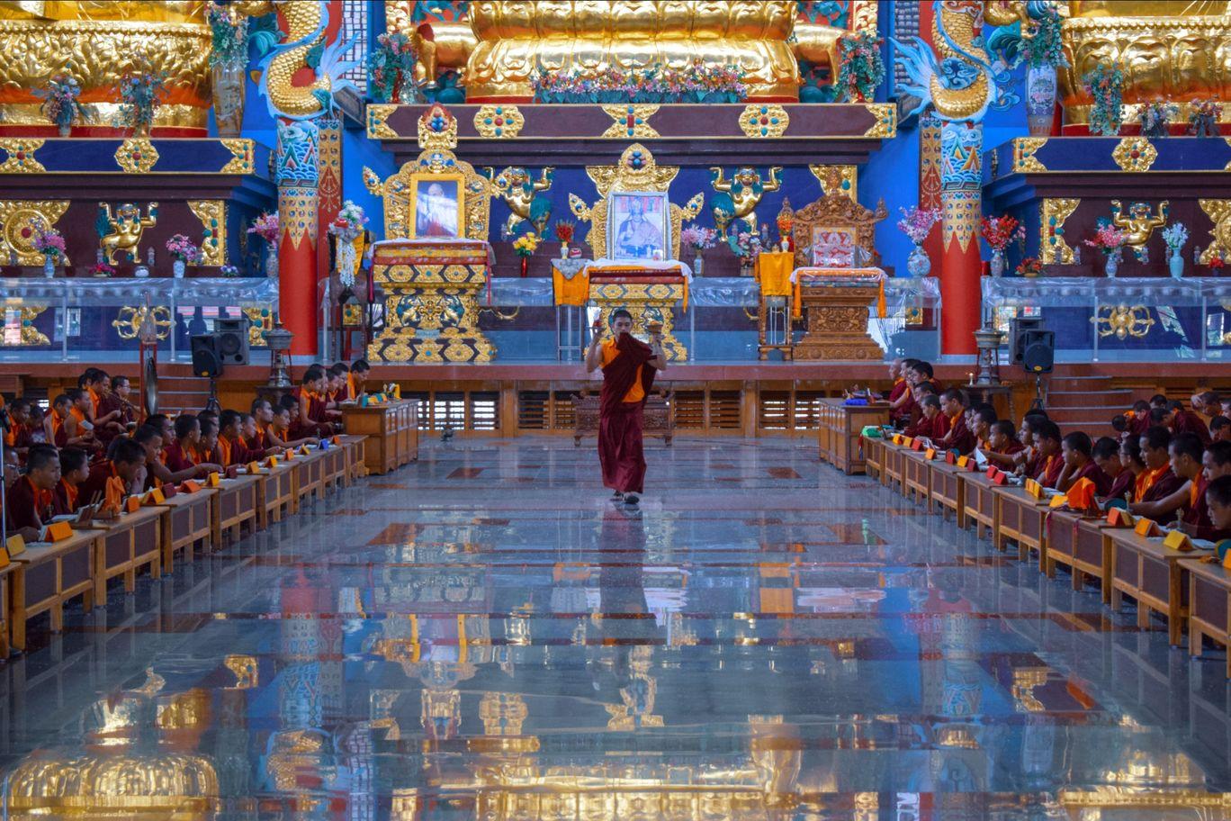 Photo of Namdroling Monastery Golden Temple By Alan Paul Jaxon