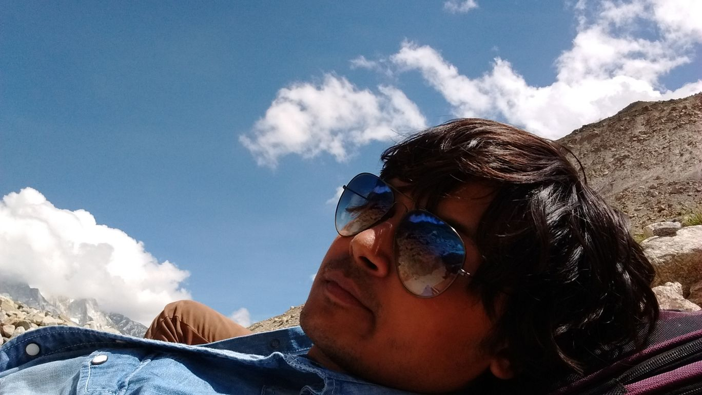 Photo of Gomukh By chirag chaudhary