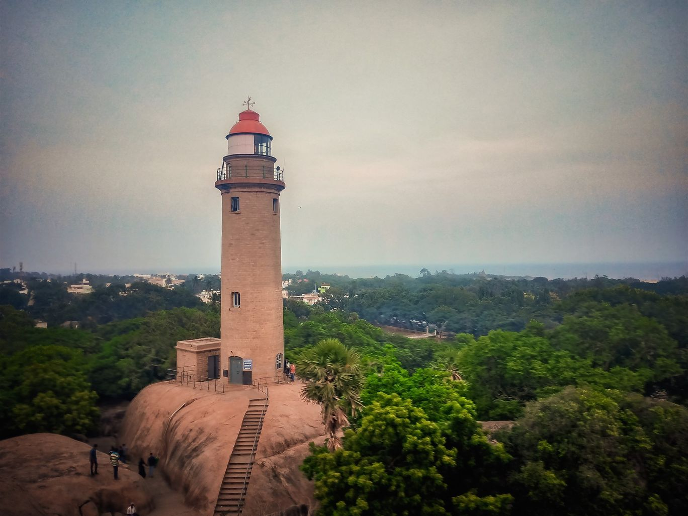 Photo of Mahabalipuram Light House By Chandan Kumar Mohapatra