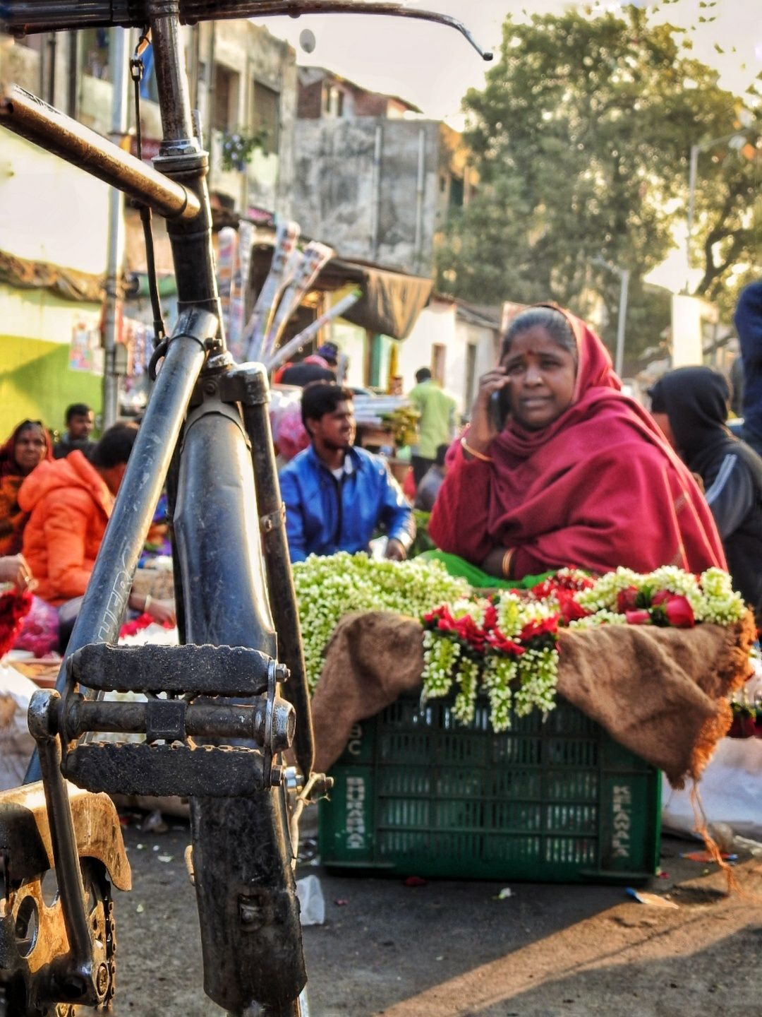 Photo of Ahmedabad Flower Market By Preet Gor