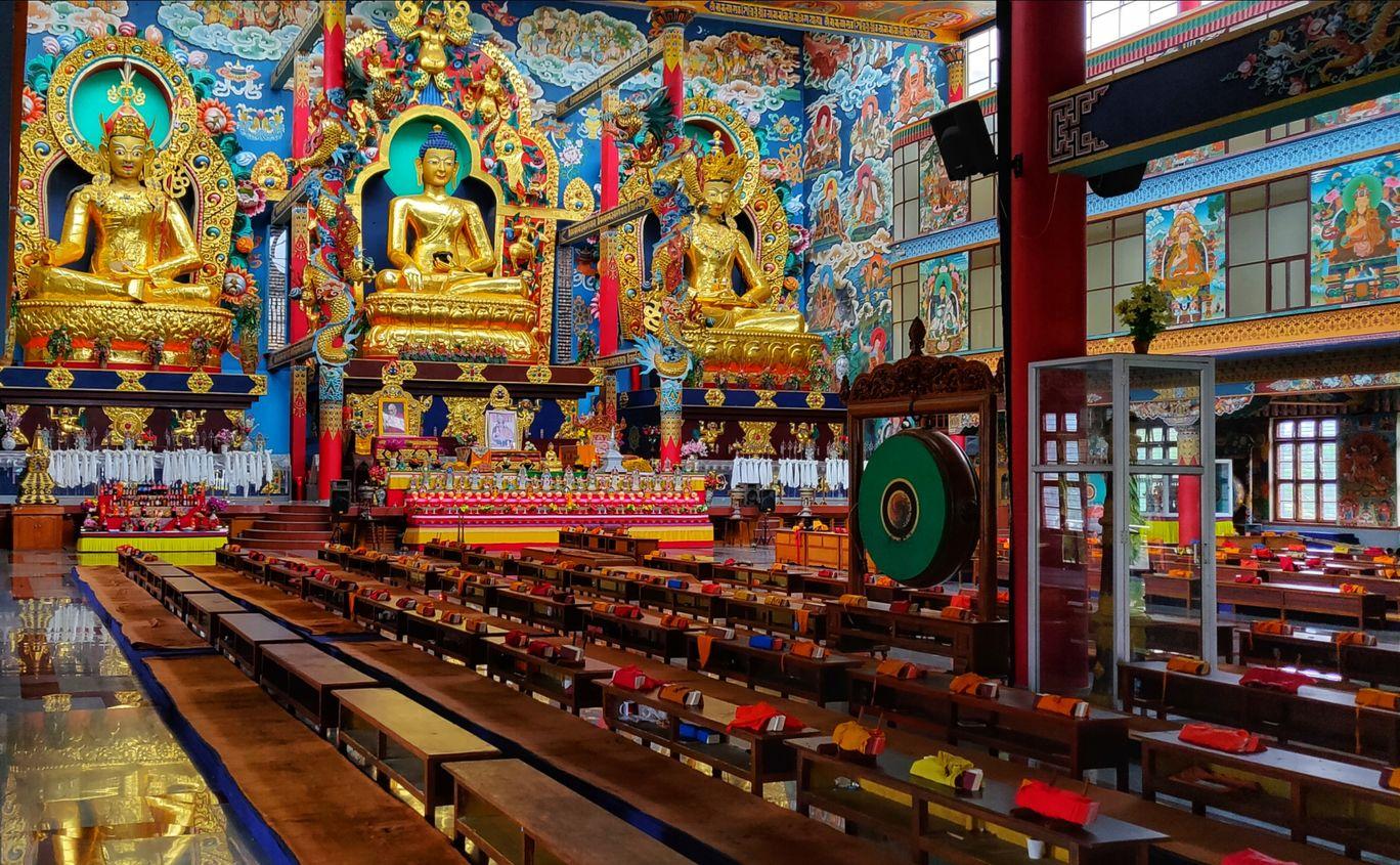 Photo of Namdroling Monastery Golden Temple By ARPITA SAMANTA