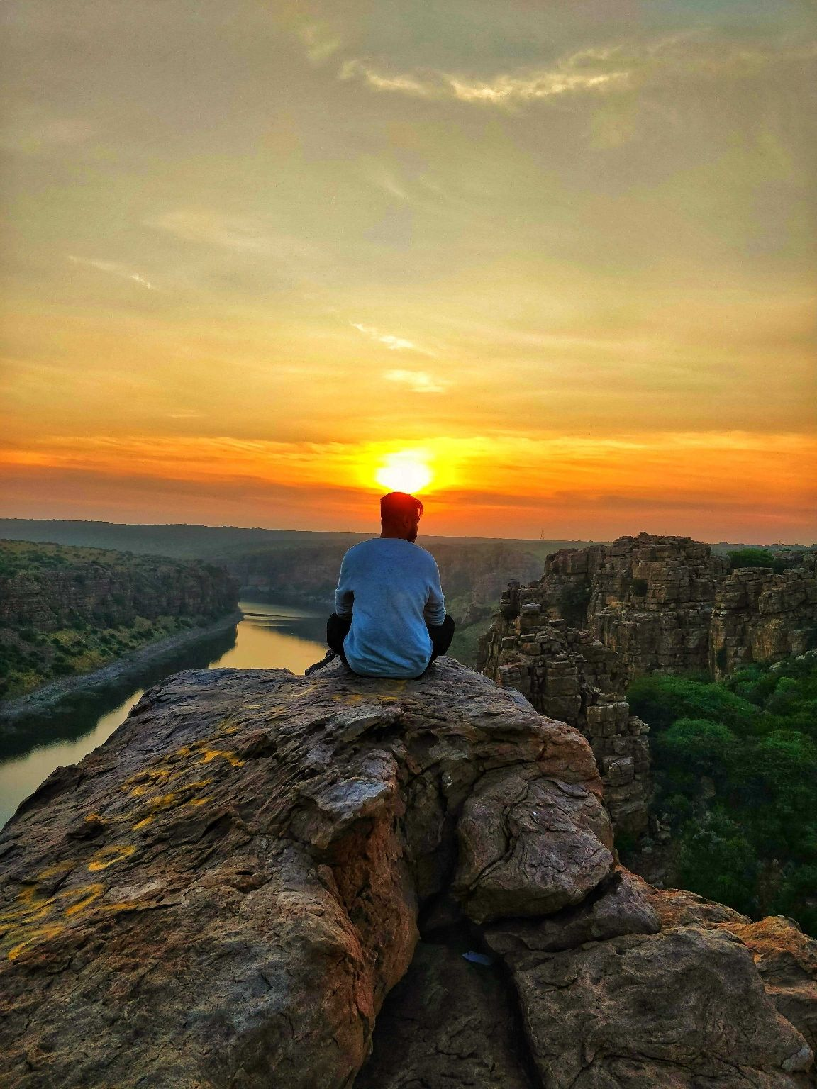 Photo of Gandikota Penna River View By Dhiraj Malode